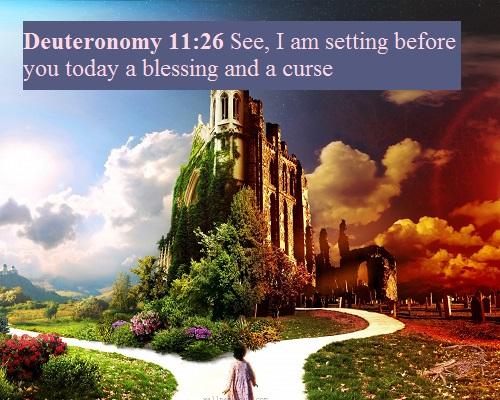 Deuteronomy 11 26