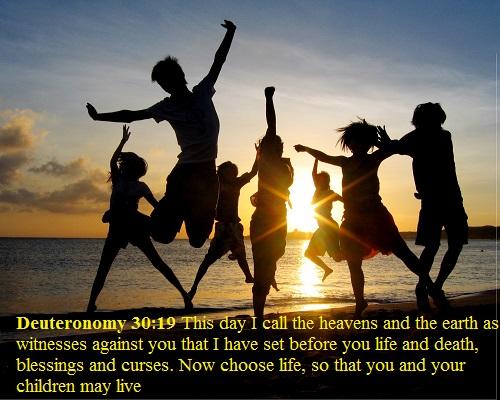 Deuteronomy 30 19