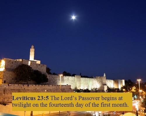 Leviticus 23 5