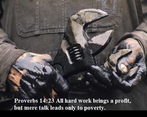 Proverbs 14 23