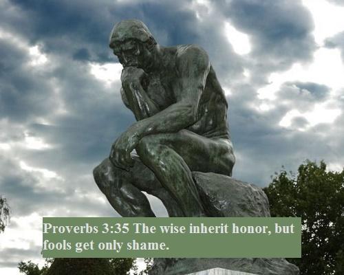Proverbs 3 35