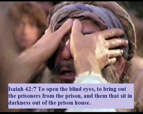 Isaiah 42 7