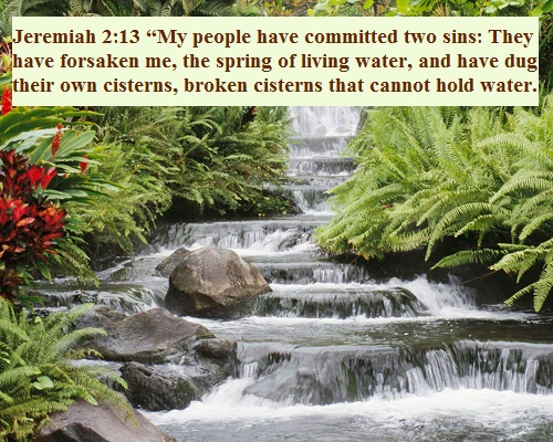 Jeremiah 2 13