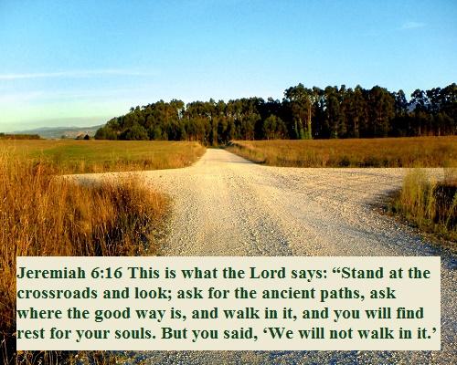 Jeremiah 6 16