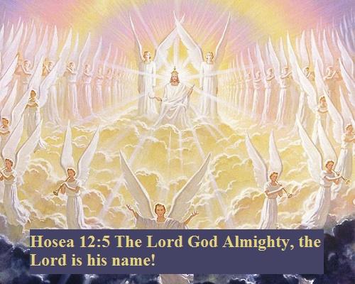 Hosea 12 5