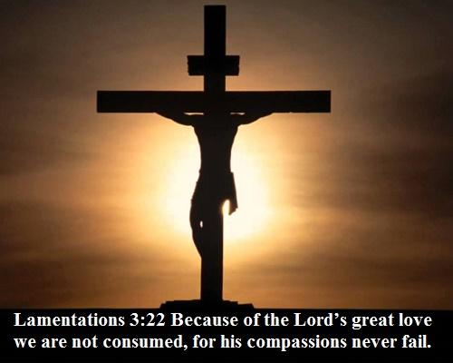 Lamentations 3 22