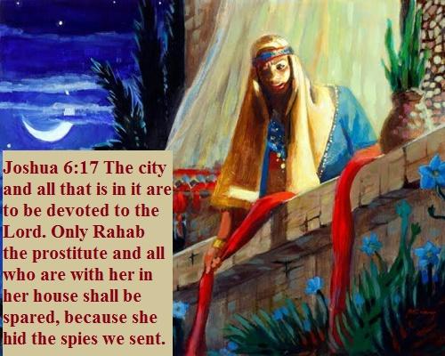 Joshua 6 17
