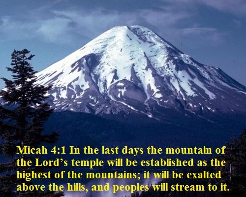 Micah 4 1