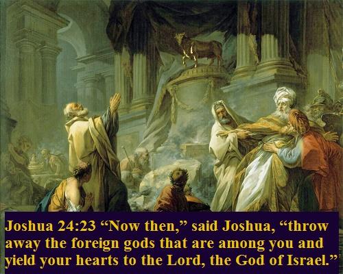 Joshua 24 23