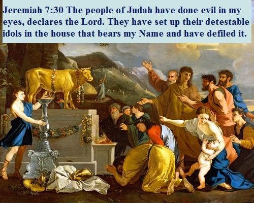 Jeremiah 7 30