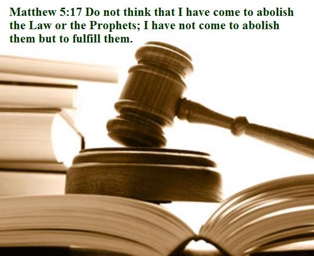 Matthew 5 17