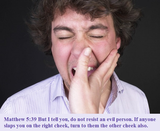 Matthew 5 39