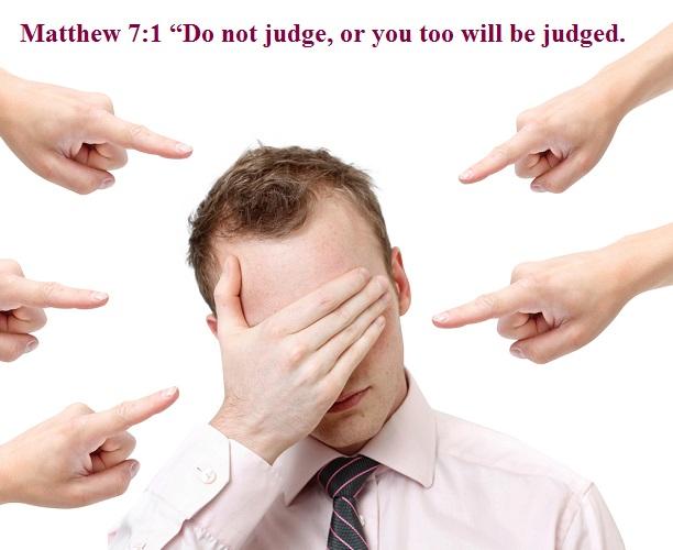 Matthew 7 1