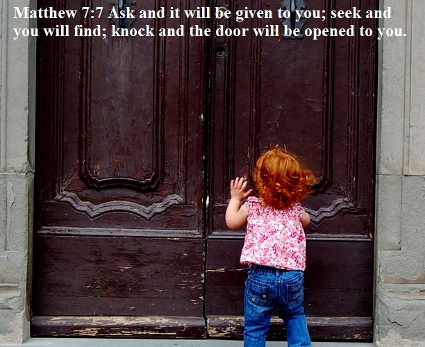 Matthew 7 7