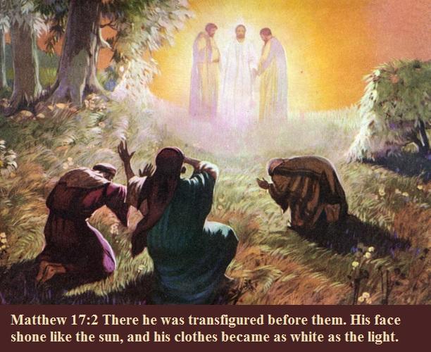 Matthew 17 2