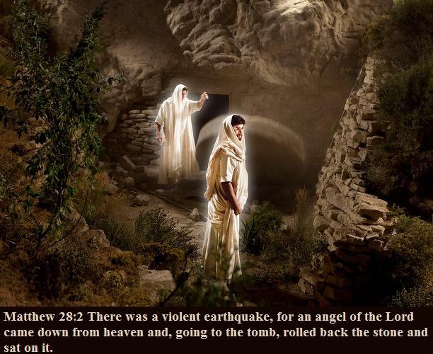 Matthew 28 2