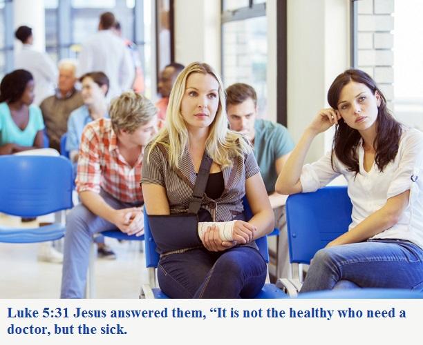 Luke 5 31